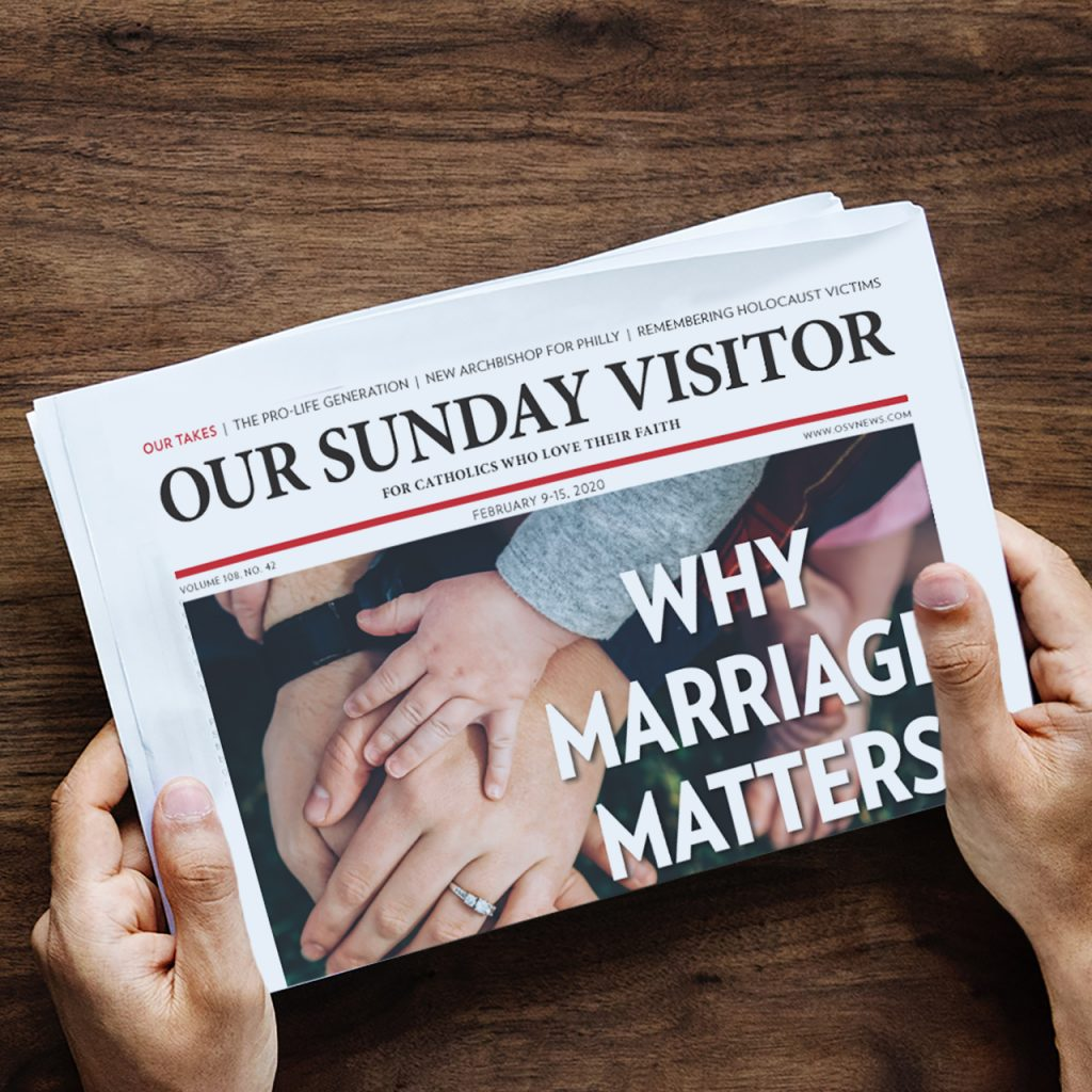 Learn more about Our Sunday Visitor Weekly